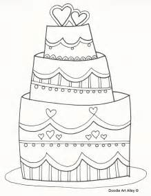 wedding cake coloring pages wedding coloring pages celebration doodles