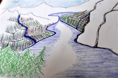 fjord drawing a fjord 642 things to draw
