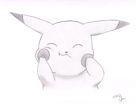 P Drawing Image by Drawings Of Pikachu 10 Best Images About On