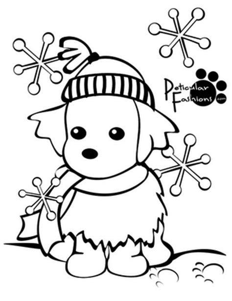 snow coloring pages dog and kid in winter grig3 org printable winter coloring pages coloringstar