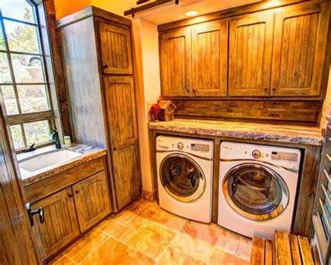 rustic laundry rooms country laundry room john hummel laundry room design ideas renovations photos with