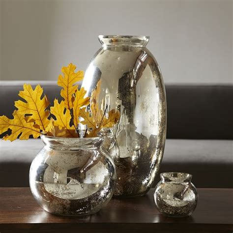 mercury glass vases west elm