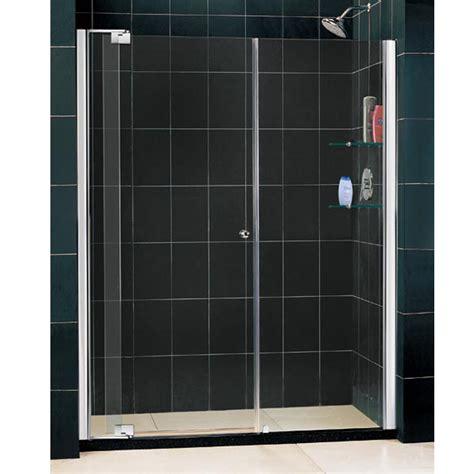 Shower Doors Sizes Dreamline Single Pivoting Shower Door Various Sizes Shdr 42