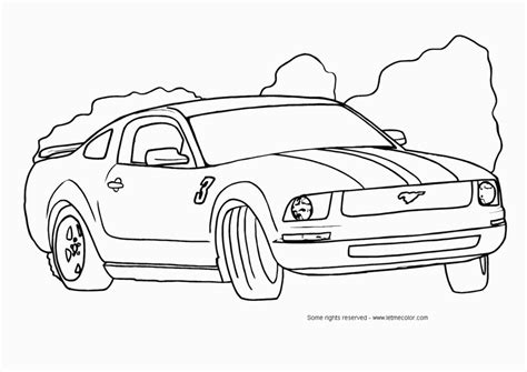coloring pages of mustang cars mustang car coloring pages coloring home