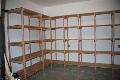 2x4 Garage Shelves by Pin 2x4 Shelving Brackets Photos On