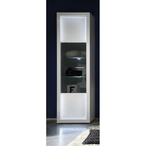 led lights cabinets iluminati ii gloss display cabinet with led lights