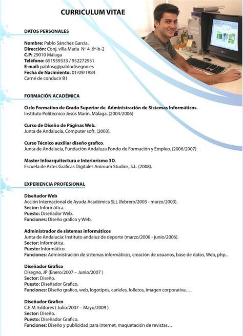 Plantillas De Curriculum Vitae Diseño Grafico Curriculum Vitae Curriculum Vitae Dise 241 Ador Grafico