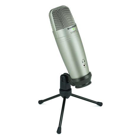 Samson Q2 Usb Microphone samson c01u pro usb studio condenser microphone at