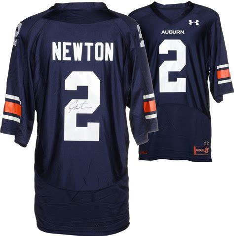 Jersey Fanatic newton auburn tigers autographed blue jersey fanatics