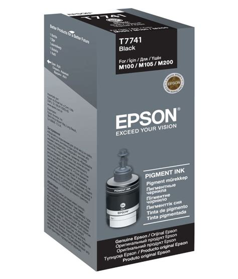 Tinta Epson M200 epson m100 m200 ciss black ink buy at best price