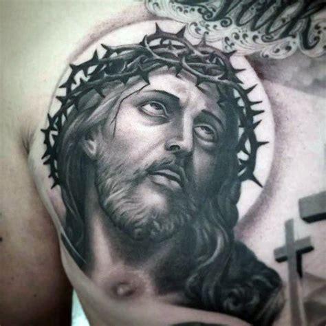 jesus tattoo designs for men 100 jesus tattoos for cool savior ink design ideas
