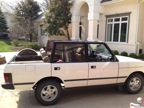 convertible land rover discovery convertible rrc 1995 lwb land rover forums land