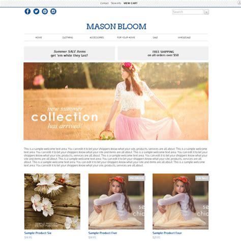 storenvy themes storenvy premium theme mason bloom 183 new shop design