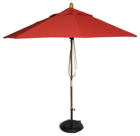 Modern Patio Umbrellas Market Patio Umbrella In Jockey Contemporary Outdoor Umbrellas By Ivgstores