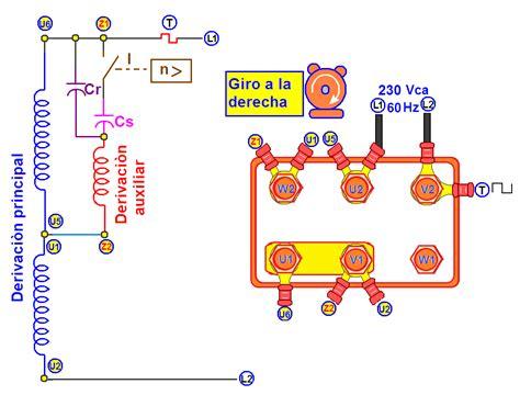 conexion capacitor motor monofasico coparoman motor monof 225 sico con 2 capacitores