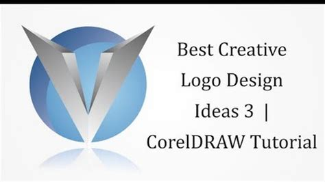 3d logo design in coreldraw tutorial corel learning