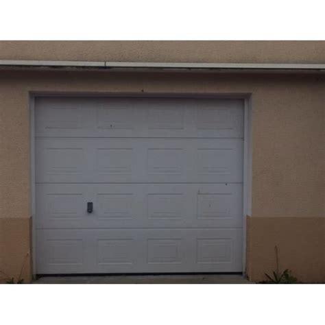 porte de garage sectionnelle tubauto avec motorisation europro