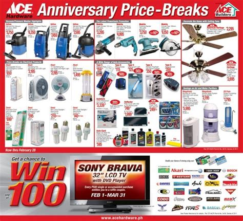ace hardware product ace hardware anniversary price breaks blog sm city bacolod