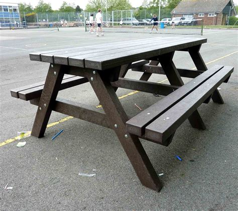 recycled plastic furniture picnic tables