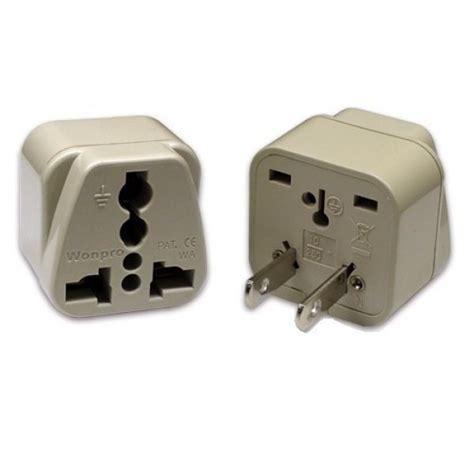 power pug wonpro wa 6 universal to us power adapter 110220volts