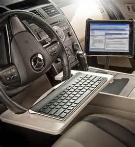 Steering Wheel Desk Steering Wheel Desk Tablet Mount In Auto Exec Mobile Office