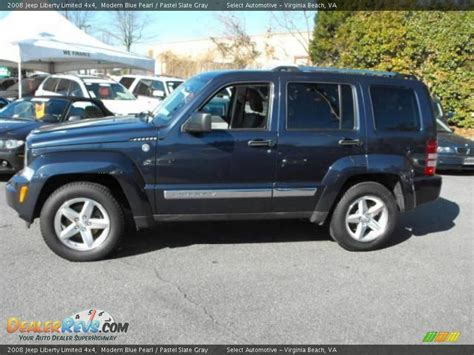 2008 Jeep Liberty Limited 4x4 2008 Jeep Liberty Limited 4x4 Modern Blue Pearl Pastel