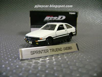 Promo Tomica Initial D Ae86 Trueno 1 pj car limited initial d ae 86 from tomy