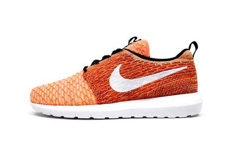 Sepatu Nike Roshe Run Flayknit nike flyknit roshe run nm quot sunset quot pack trends periodical