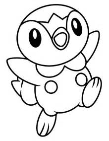 Piplup Coloring Pages piplup coloring pages az coloring pages