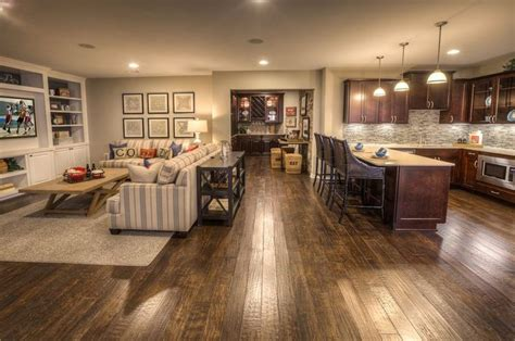 open concept home decorating ideas unfinished basement ideas on a budget using unfinished