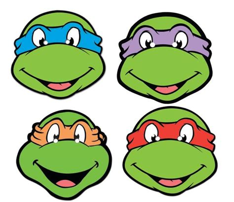 Mask Tmt Turtle Isi4 mutant turtles variety 4 pack tmnt official