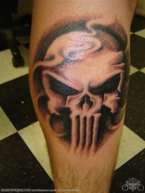 punisher skull tattoo awesome punisher tattoos picture models picture