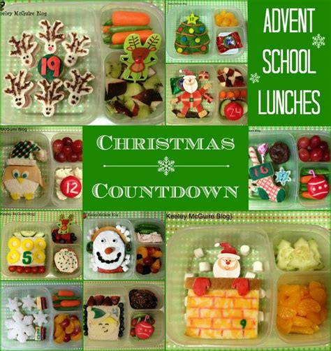 christmas themes lunch lunch made easy advent school lunches a christmas