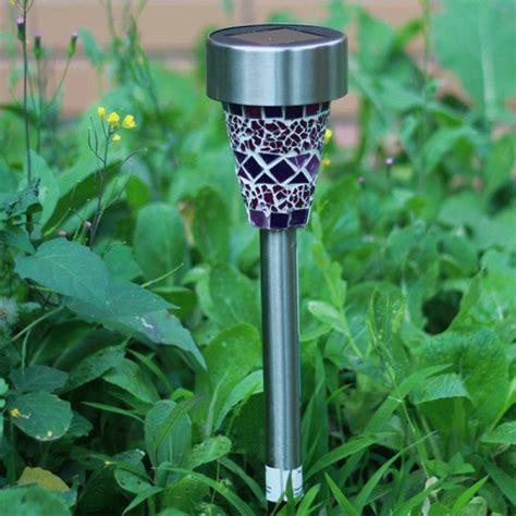 Buy Solar Garden Lights Buy Solar Power Mosaic Led Garden Light Solar Energy Outdoor L For Lawn Bazaargadgets