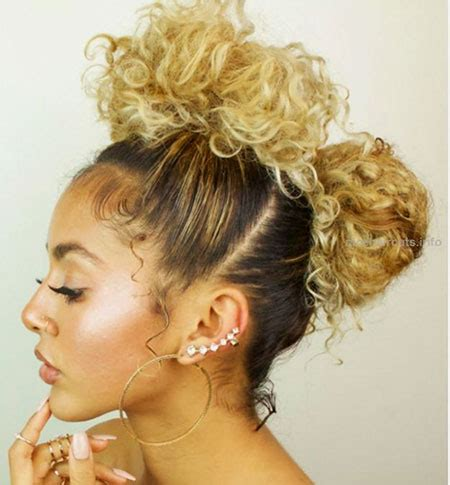 Pretty Hairstyles For Curly Hair by Updo Hairstyles For Curly Hair The Best