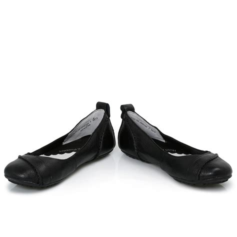 hush puppies womens shoes hush puppies janessa black womens flats ballerina shoes size 3 8 ebay