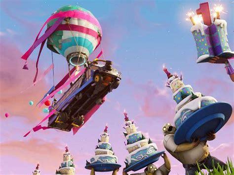fortnite celebrates  birthday   challenges
