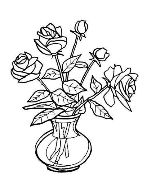 vasi di fiori da colorare disegni vasi di fiori da colorare 26