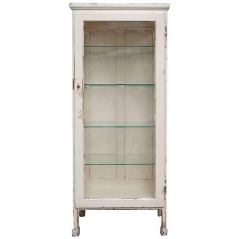 Retro Medicine Cabinet Vintage Hungarian Wood And Glass Medicine Cabinet 1930s
