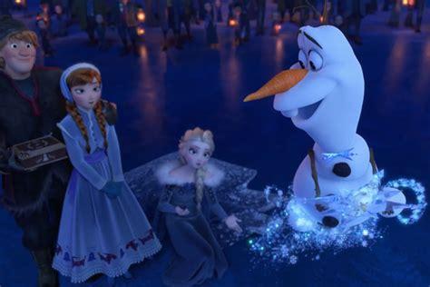 olafs frozen adventure frozen is back 相隔四年 olaf 帶著全新作品 olaf s frozen adventure 逗趣