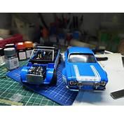 FnF 6 Ford Escort MK1 RS1600  Under Glass Model Cars