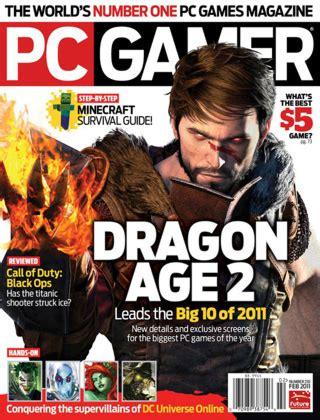 Gameplayer Magazine De pc gamer magazine media kit info