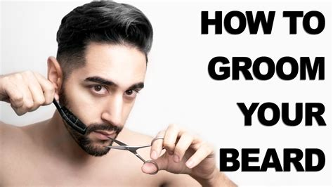how to put in beard how to shape and trim your beard s grooming