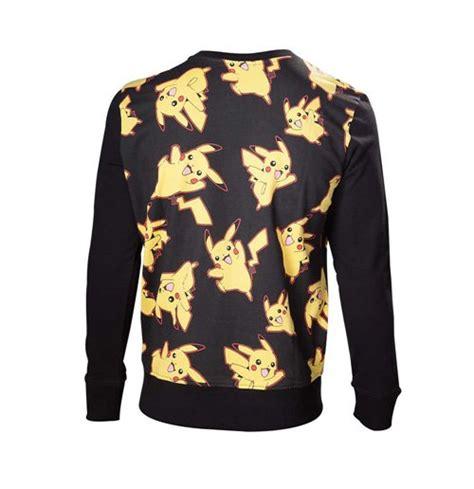 Pikachu Sweater Army pikachu all sweater medium black