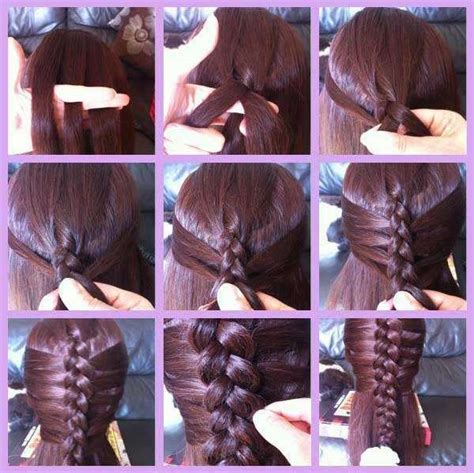new type of twists with steps different braid types step by step with pictures