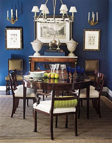 ruth burts interiors best of the bold blue paint colors lighting for dining table