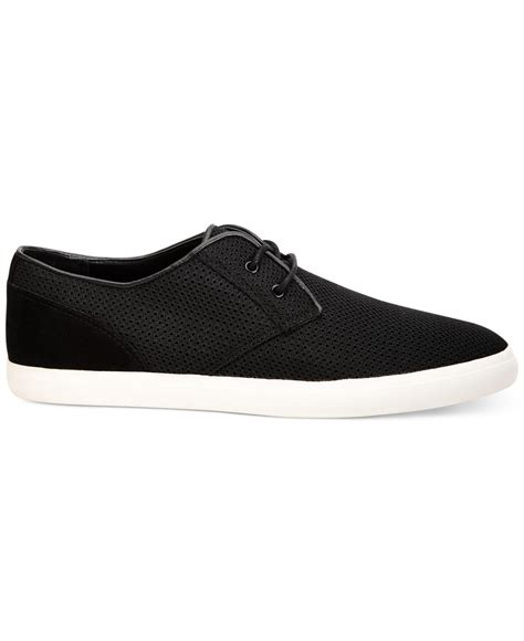 calvin klein mesh shoes in black for lyst