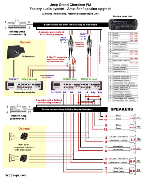rockford fosgate speaker wiring diagram simple to wiring