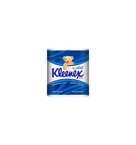 kleenex toilet roll kleenex toilet tissue 4 roll from supermart ae