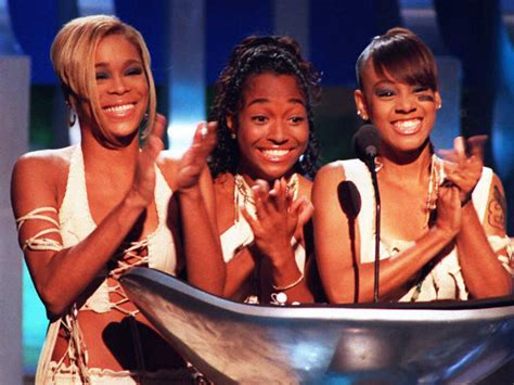 t boz and chilli argue on who loves tlc more youtube tlc s quot waterfalls quot turns 20 people com